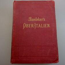 BAEDEKER 's superiore Italia 1891 (41873)