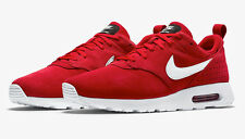 NIKE AIR MAX TAVAS LTR  SZ 14  802611 601  2017 RED RUNNING SHOES TRAINER