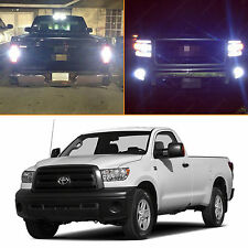 8x White Exterior LED Light Package Kit for 2007-2013 Toyota Tundra Truck