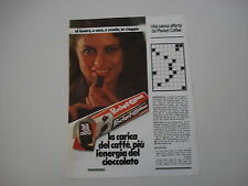advertising Pubblicità 1982 FERRERO POCKET COFFEE