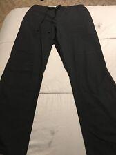 women's cherokee scrub pants Style 4101 Black Sz L