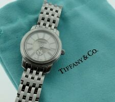 Tiffany & Co. Mark Quartz Resonator Stainless Steel Ladies Watch  with Pouch