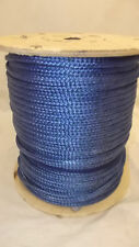 "NEW 5/16"" x 600' 12-Strand Braided Polyester Rope, Wire Pulling, Anchor Line"