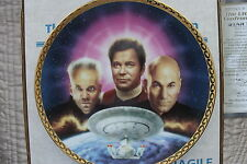 STAR TREK GENERATIONS  PLATES  THE ULTIMATE CONFRONTATION FROM HAMILTON COLLECTI