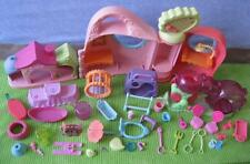 Littlest Pet Shop Replacement  Parts Lot Dog House Accessory Get Better Center