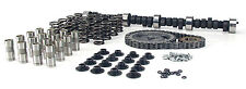 COMP CAMS K12-212-2 SBC 350 CAMSHAFT KIT SPRINGS LIFTERS TIMING SET 480/480 LIFT