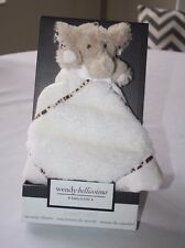 Wendy Bellissimo Elephant Sweet Safari Dreams Lovey NEW Baby GIFT TOY ~ HTF