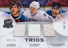 08-09 The Cup TRIOS JERSEY xx/15 Made! Joe SAKIC/Mats SUNDIN/Peter FORSBERG