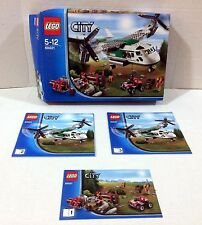 LEGO 60021 City Cargo Heliplane BOX and MANUAL ONLY!