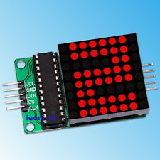 MAX7219 Serial Dot Matrix 8x8 Led Display Module Arduino PIC