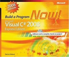 Build A Program Now, Microsoft Visual C# 2008 Express Edition, with Disc
