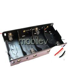 5 LR14 4 C Cell Battery 6V Clip Holder Case Box Lead M1