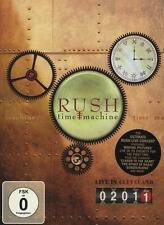 RUSH-Time Machine 2011-Live in Cleveland * DVD * NUOVO *