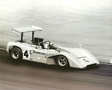 Vintage & Rare 8X10 1969 Riverside McLaren M8B Bruce McLaren Can Am Racing Photo