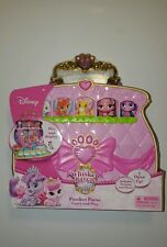 "New Disney Princess Palace Pets 1.5""Mini Figure Set - Pawfect Purse Carry & Play"