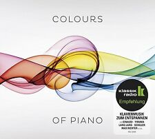 EINAUDI/LANG LANG/YIRUMA/LISITSA/SCHILLER/+ - COLOURS OF PIANO 2 CD NEU