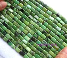 Natural Australian Chrysoprase Flat Rectangle Beads 8×12mm 15.8""