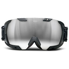 Zeal Optics Goggles Z3 Recon MOD GPS Quantum Black Metal Mirror New