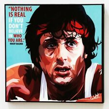 Rocky Balboa canvas quotes wall decals photo painting framed pop art poster