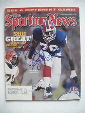 BRUCE SMITH signed BILLS 1997 Sporting News football magazine sports illustrated