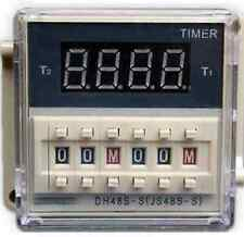 12V DH48S-S Programmable dual control time delay relay