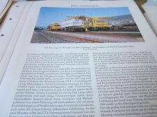 Deutsches Eisenbahn Archiv 28 Transport 5621 ULS Fahrzeuge Containerwechsel