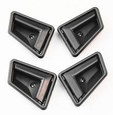 New Interior Door Handle for Suzuki Sidekick Black Front & Rear 1989-1998 4 Pcs
