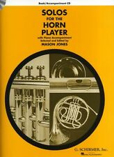 Solos For The Horn Player Learn to Play Piano Score Music Book & CD