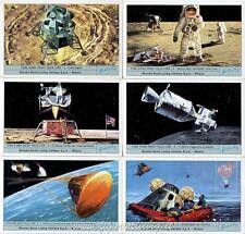 Chromo Liebig Sang. 1870 ITA Come Siamo Andati Sulla Luna II Brooke Bond AN 1975