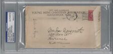 JAMES NAISMITH PSA/DNA SIGNED ENVELOPE AUTOGRAPH CERTIFIED AUTHENTIC!