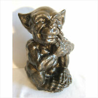 GARGOYLE WITH HAND ON FACE. LATEX MOULD/MOULDS/MOLD