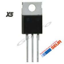 5X Regulador de Tension L7805CV 5V 1A 1000mA TO-220