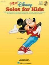 More Disney Solos for Kids (Vocal Collection) with online audio by