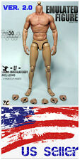 ZC Toy 1/6 Scale Muscular Nude Figure body ver 2.0 TTM19 fit Wolverine Head USA