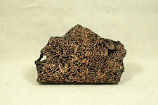 Vintage Javanese Batik Copper Stamp Indonesian Tjap Flower Block