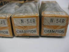 N-54R Champion Spark Plugs -- Box of NINE