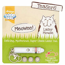 Good Girl Meowee Laser Mouse For Cats AM17035