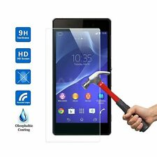 100% GENUINE TEMPERED GLASS SCREEN PROTECTOR COVER FILM FOR SONY XPERIA Z2 D6503