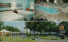 PHOTO POSTCARD OLD KENTUCKY HOME MOTEL BARDSTOWN KENTUCKY KY STEPHEN FOSTER AVE