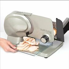 Electric Meat Slicer Restaurant Food Prep Equipment Steel Blade Deli Ham Bacon
