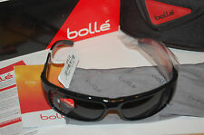 bolle adult fierce polarized sunglasses 11940 shiny black tns oleo af 8 base NEW