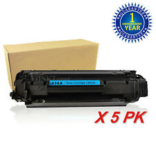 5x CB436A 36A Toner Cartridge For HP LaserJet P1505 P1505N M1522N M1522NF N
