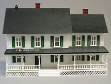 MTH RAIL KING COUNTRY HOUSE white & green shutters o gauge trains 30-90331 WG