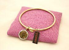 Bracciale rigido Vanto Gioielli argento 925 rosé con ciondolo a moneta