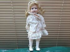 Vintage Princess House Fine Hand Painted Bisque Porcelain Doll in Period Costume