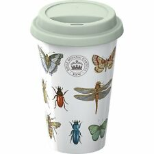 KEW Royal Botanic Gardens BUG STUDY Travel Mug - ECO CUP Ceramic Mug & Lid