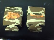 Lot Of Ten Can Coolers Koozie New Camouflage