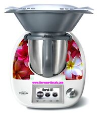 Thermomix TM5 Sticker Decal  (Code: Floral 81)