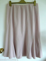 Ladies Bonmarche Pink Stretchy Skirt Size 16 Elasticated Waist