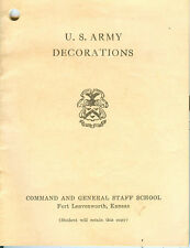 1945 U.S. Army Decorations PL-2350, March 15, 1945, some color illustrations